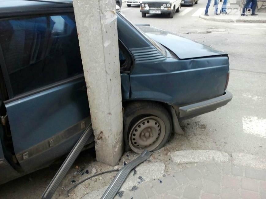 В центре Кропивницкого случилось серьезное ДТП. ФОТО, фото-2