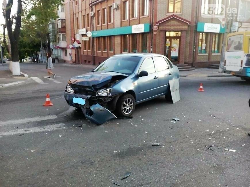 В центре Кропивницкого случилось тройное ДТП ФОТО, фото-3