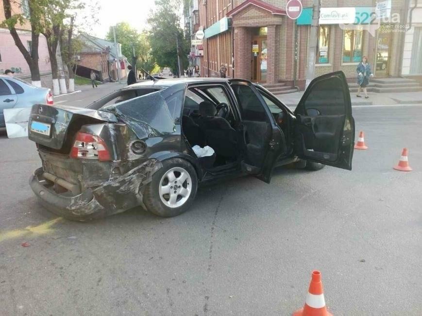 В центре Кропивницкого случилось тройное ДТП ФОТО, фото-5