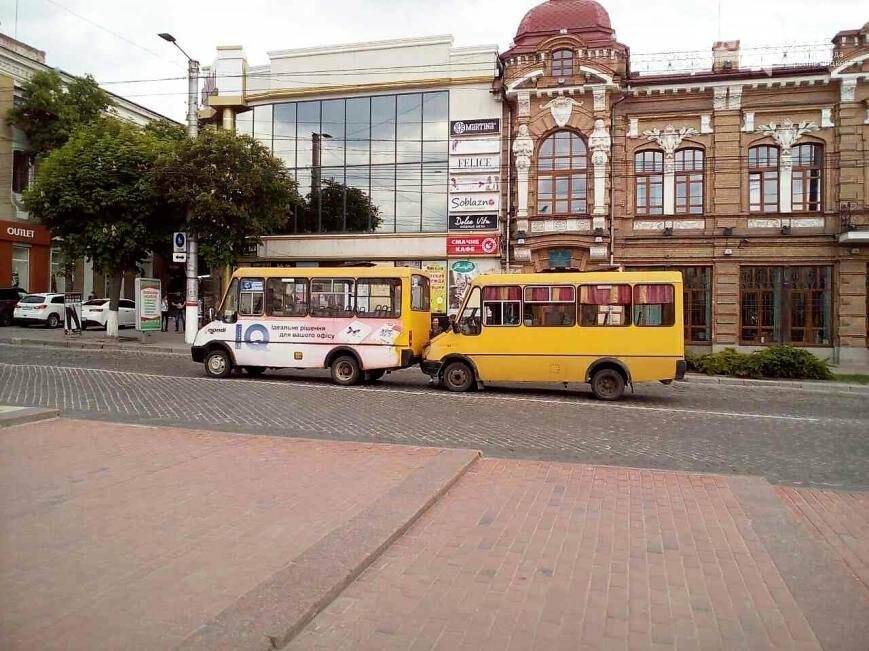 ДТП в Кропивницком: столкнулись две маршрутки ФОТО, фото-1