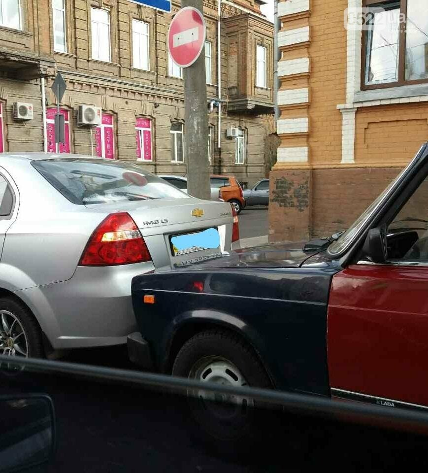В центре Кропивницкого произошло ДТП ФОТО, фото-1