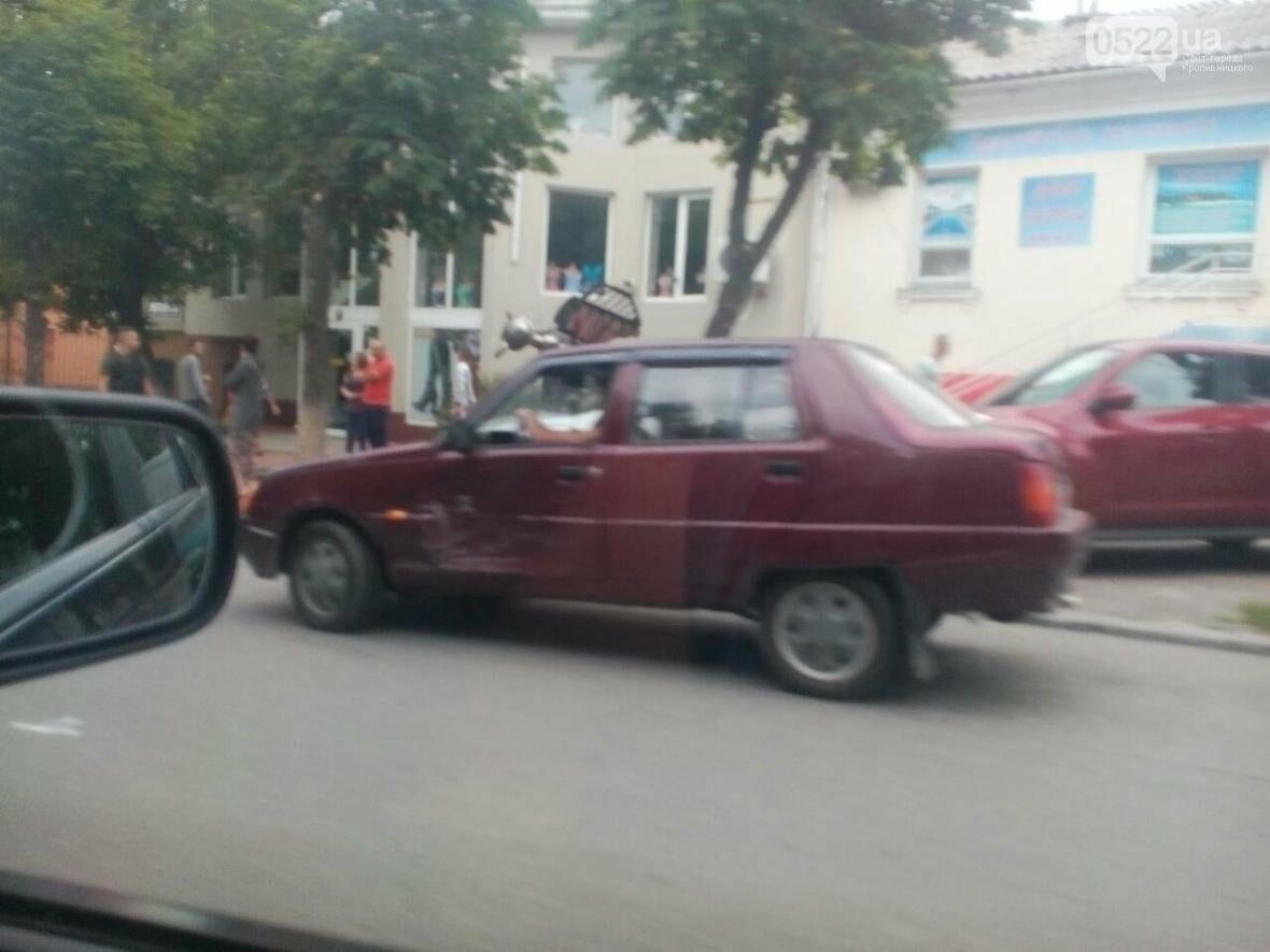 В Кропивницком произошло ДТП с участием авто частной охраны ФОТО, фото-2