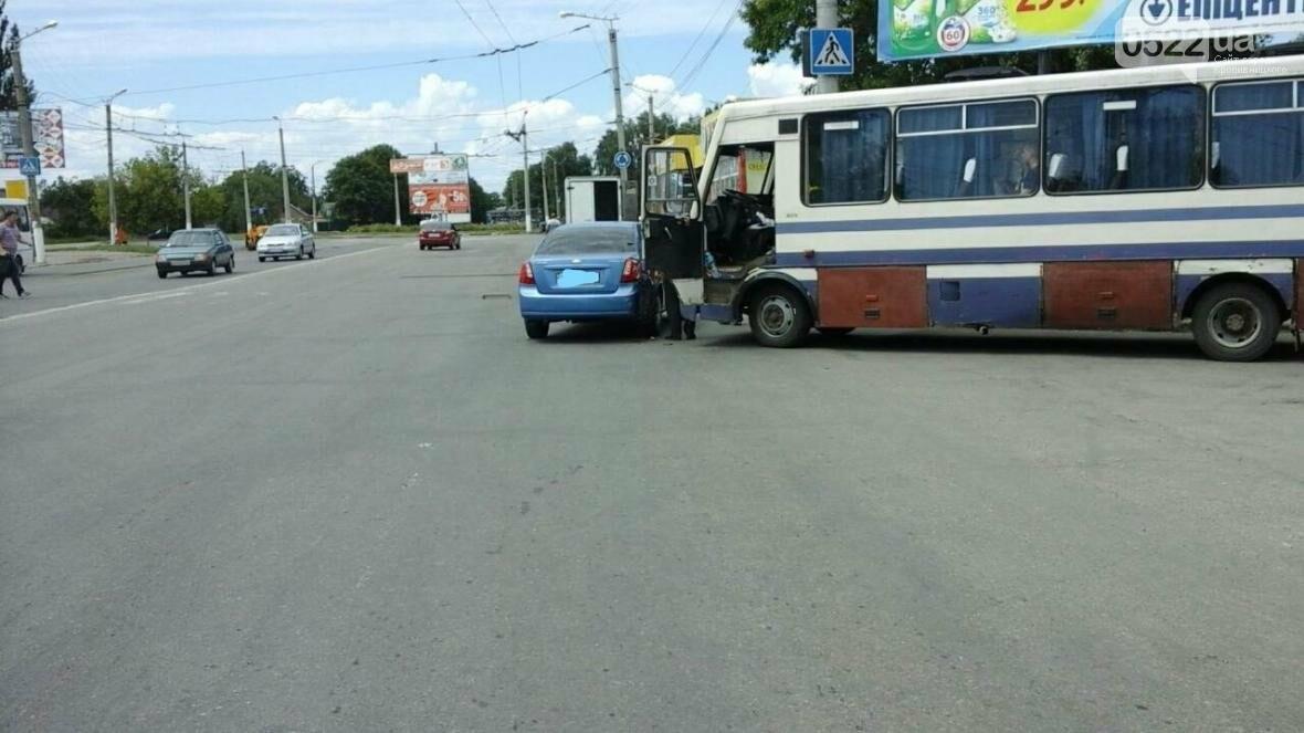 ДТП В Кропивницком: рейсовый автобус столкнулся с автомобилем ФОТО, фото-4