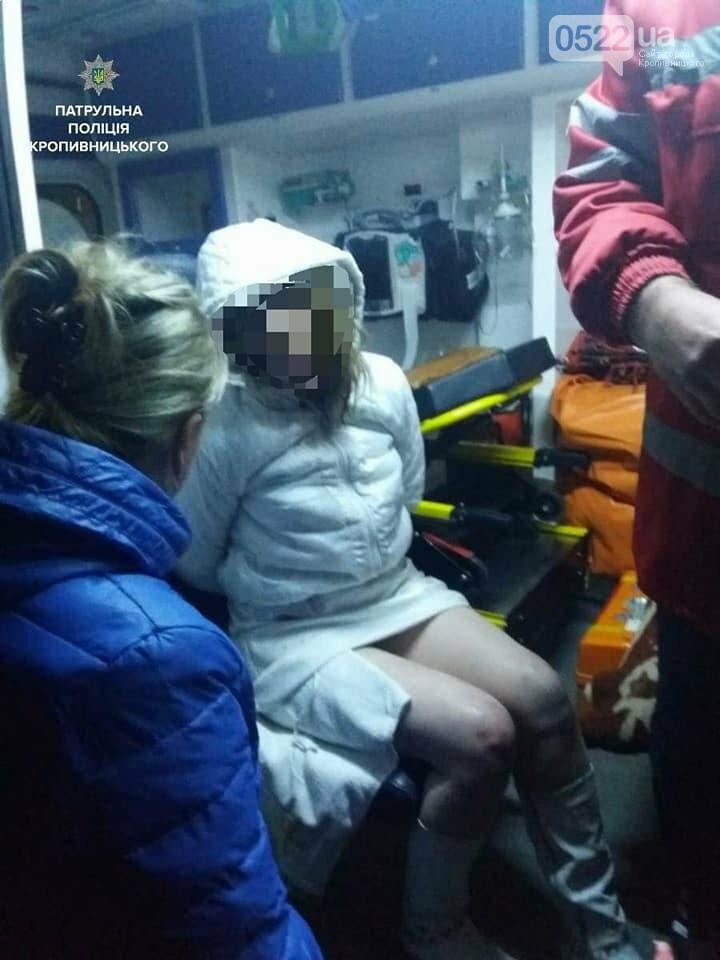 В Кропивницком женщина спасаясь от пожара чуть не упала с ребенком с высоты третьего этажа. ФОТО, фото-4