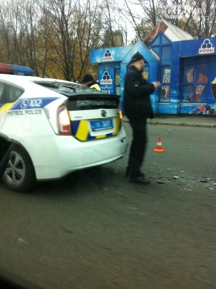 В Кропивницком автомобиль патрульной полиции попал в ДТП. ФОТО, фото-1