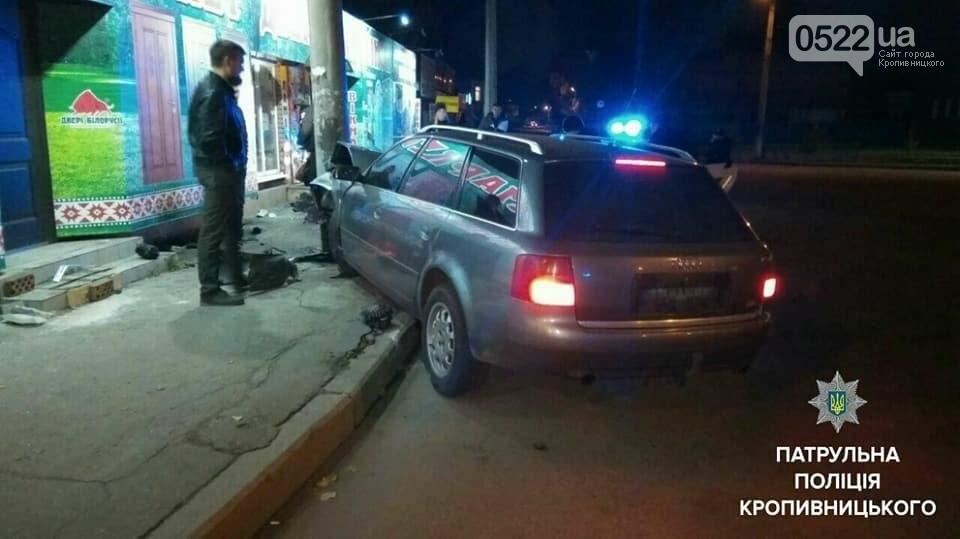 ДТП в Кропивницком: пьяный водитель влетел в электроопору. ФОТО, фото-4