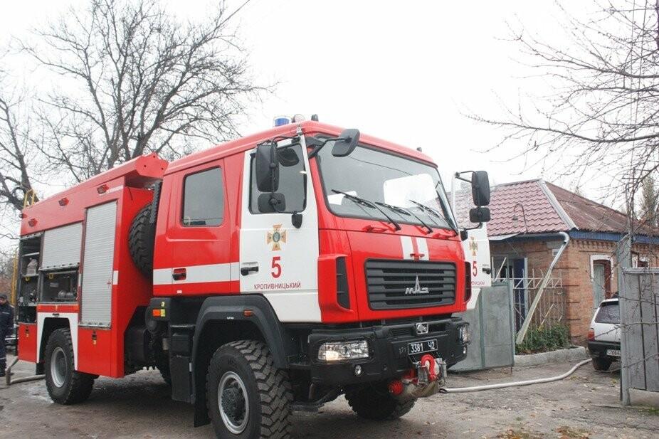 Кропивницький: вогнеборці ліквідували загорання у господарчій споруді. ФОТО, фото-2