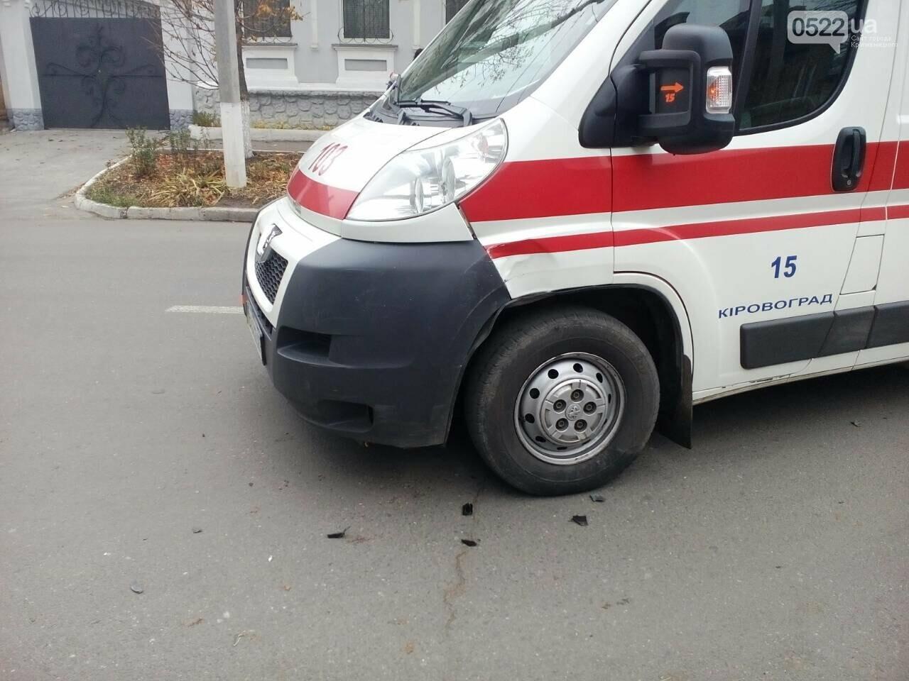 В Кропивницком в ДТП попал автомобиль скорой помощи. ФОТО, фото-2