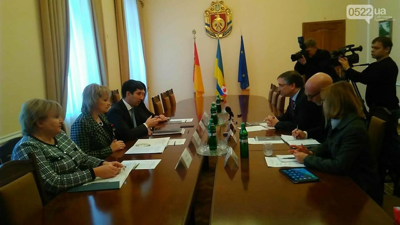 Очільник Кіровоградщини розповів Послу про переваги регіону, фото-1