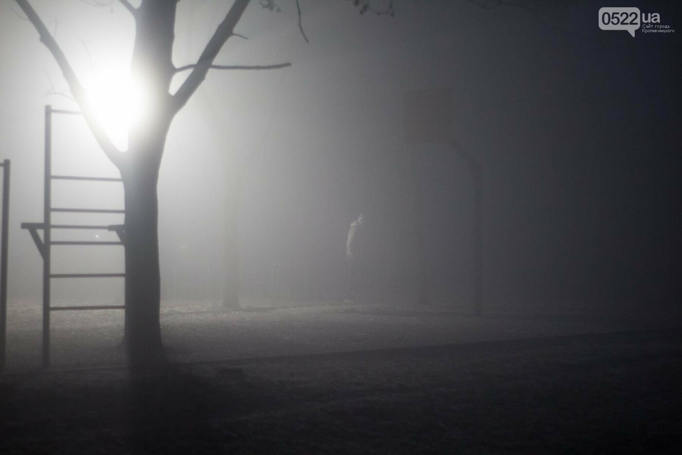 Зранку Кропивницький оповив густий туман. Фото, фото-6