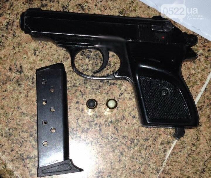На Кіровоградщині затримали росіянина з пістолетом. ФОТО, фото-2