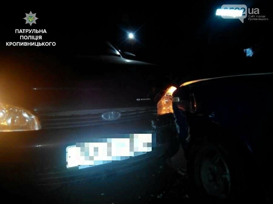 ДТП в Кропивницком: пьяный водитель врезался в припаркованный автомобиль. ФОТО, фото-1