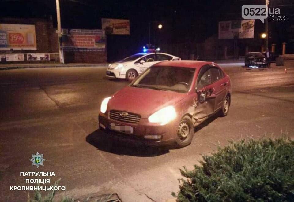Нічне ДТП: один водій не надав перевагу в русі, інший - перебував у стані сп'яніння. ФОТО, фото-1