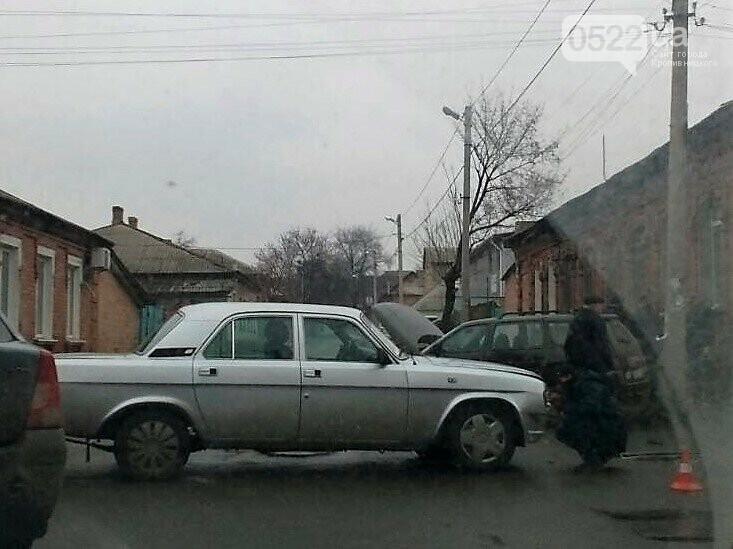 ДТП в Кропивницком: столкнулись два легковых авто. ФОТО, фото-1
