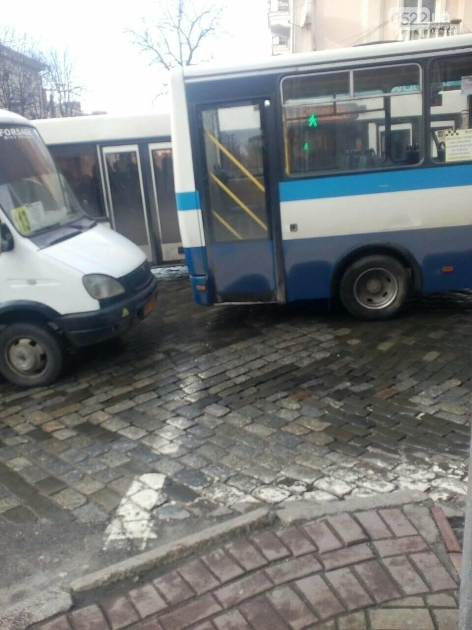 ДТП в Кропивницком: столкнулись две маршрутки. ФОТО, фото-1