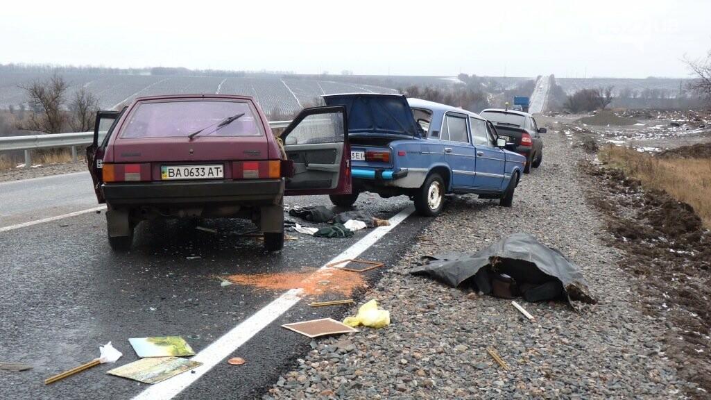 Под Александрией произошло смертельное ДТП. ФОТО, ВИДЕО, фото-1