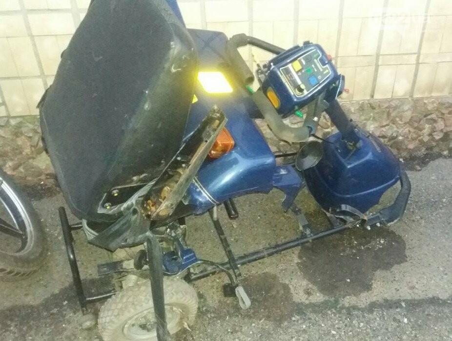 На Кіровоградщині чоловік викрав інвалідний візок ФОТО, фото-1