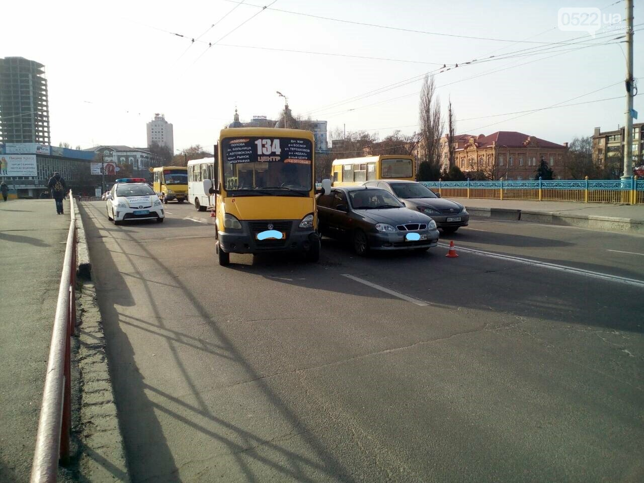 В Кропивницком произошло ДТП с участием маршрутки. ФОТО, фото-4