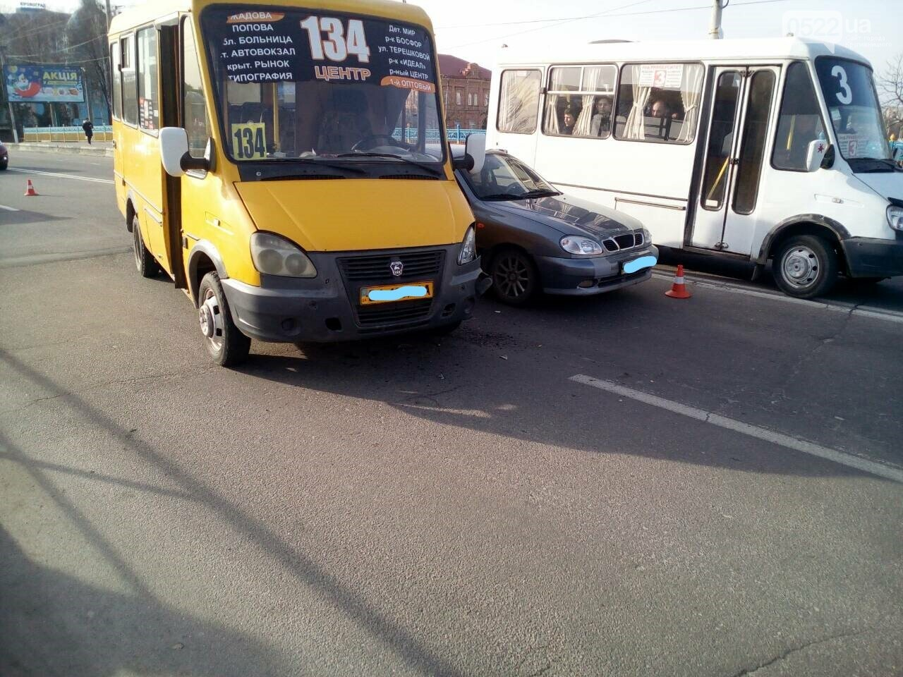 В Кропивницком произошло ДТП с участием маршрутки. ФОТО, фото-5