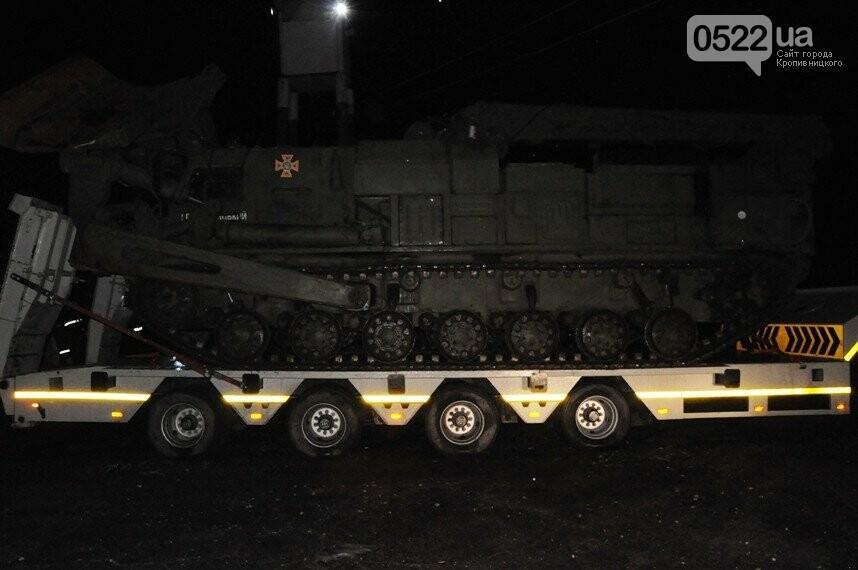 Кропивницький: важка інженерна техніка АРЗСП Управління ДСНС в області вирушила у Черкаську область для надання допомоги на автошляхах, фото-1
