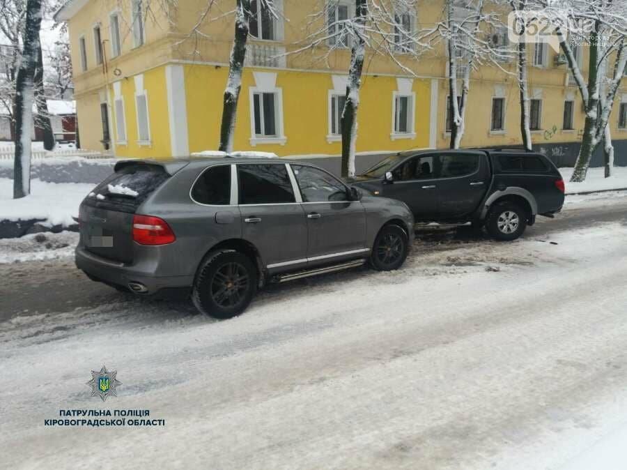 """В Кропивницком пьяный водитель автомобиля """"Porsche"""" устроил ДТП. ФОТО, фото-1"""