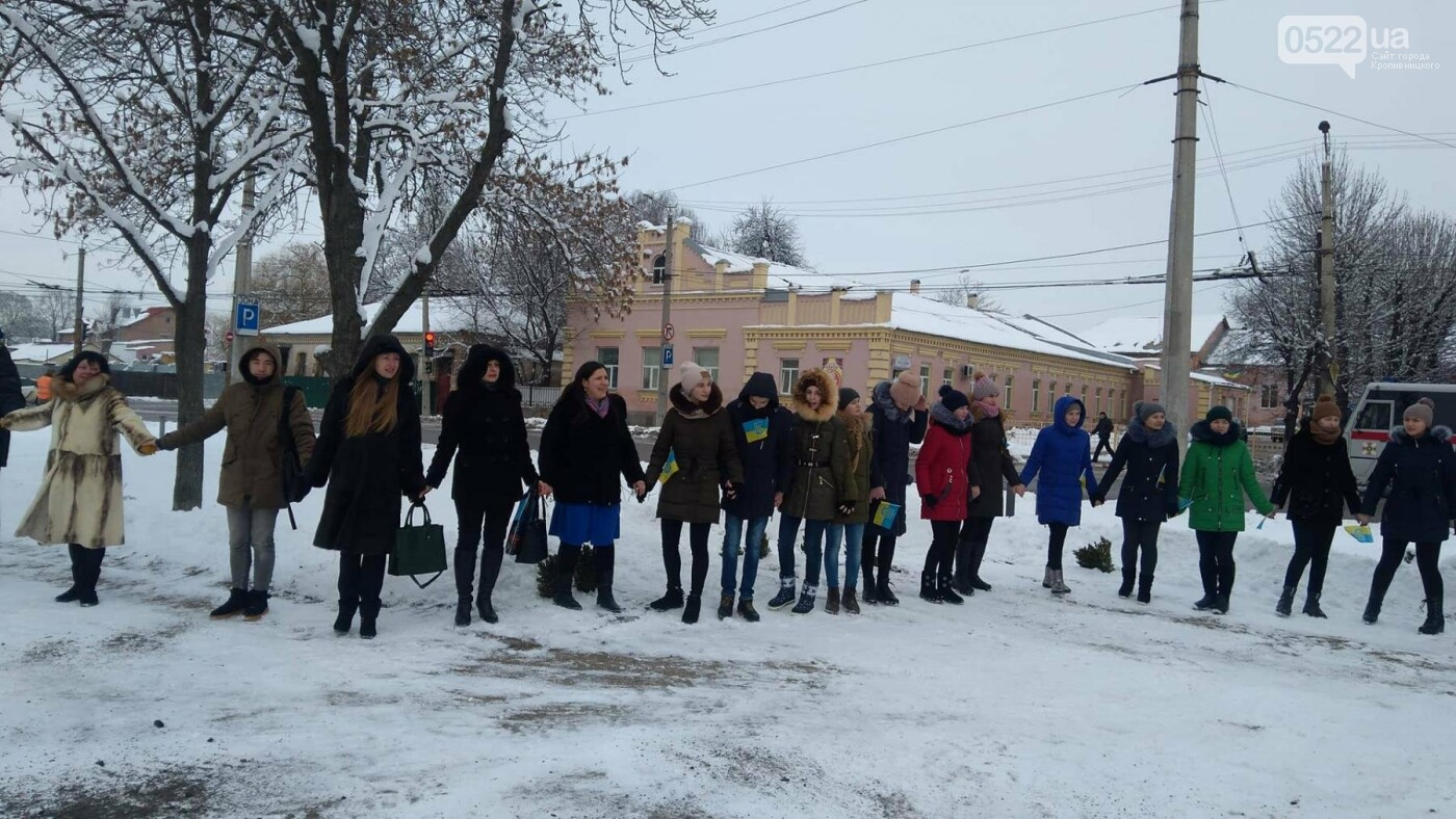 В рамках відзначення Дня Соборності кропивничани утворили коло єдності. ФОТО, фото-15