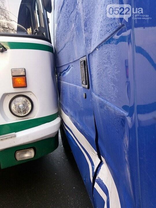 В Кропивницком произошло ДТП с участием автобуса. ФОТО, фото-1