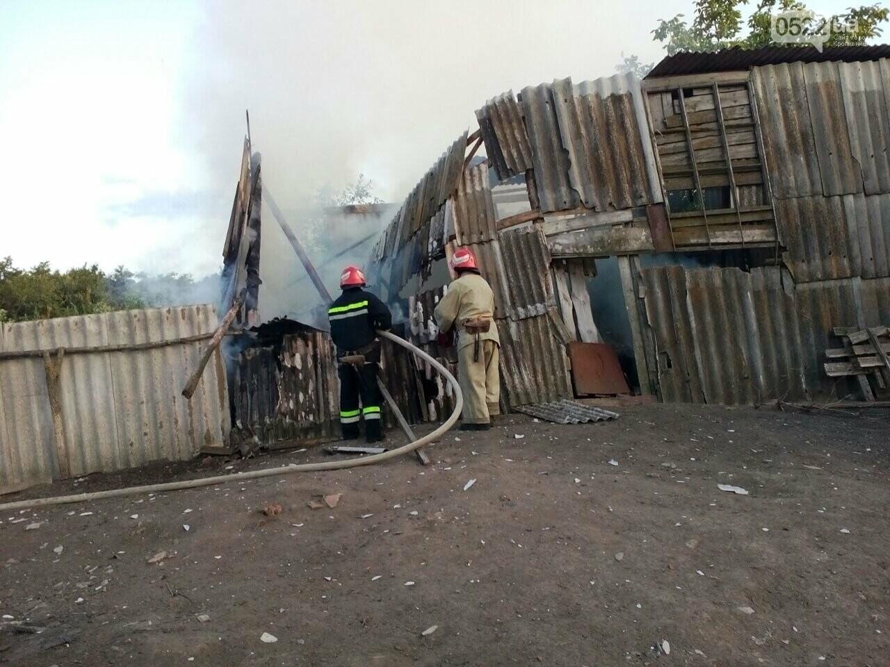 Кіровоградська область: вогнеборці подолали 6 займань різного характеру, фото-1
