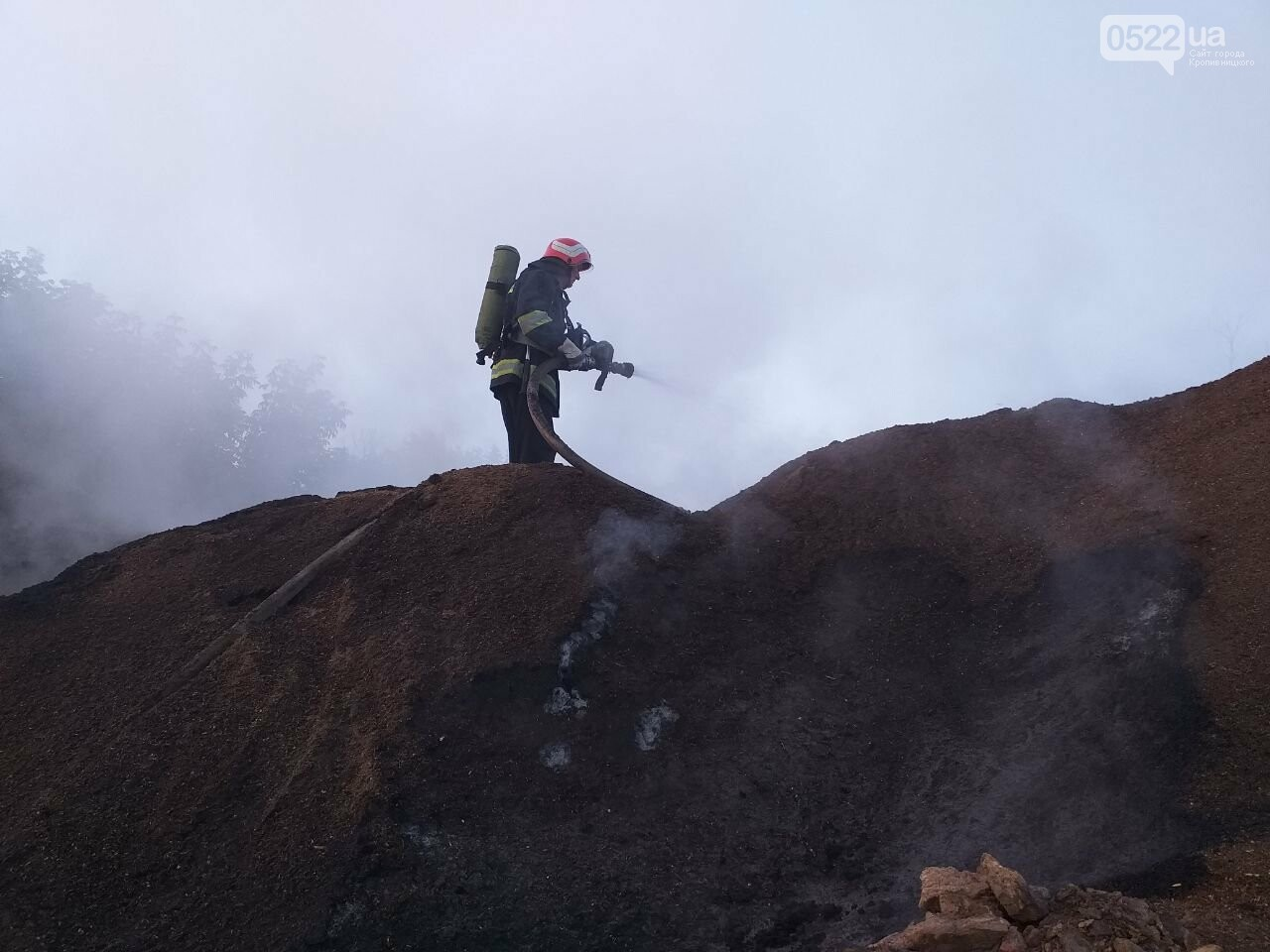 На Кіровоградщині минулої доби вогнеборці приборкали 6 пожеж різного характеру (ФОТО), фото-1