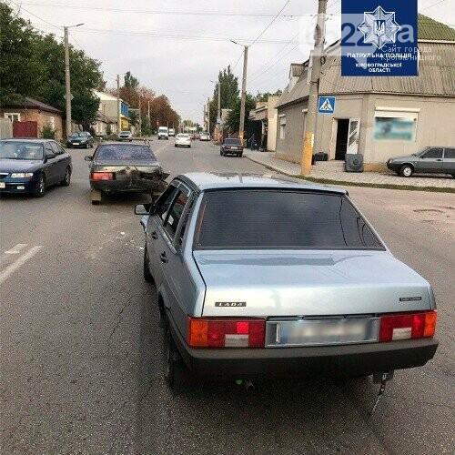 У Кропивницькому один ВАЗ наздогнав інший: склали європротокол, фото-1
