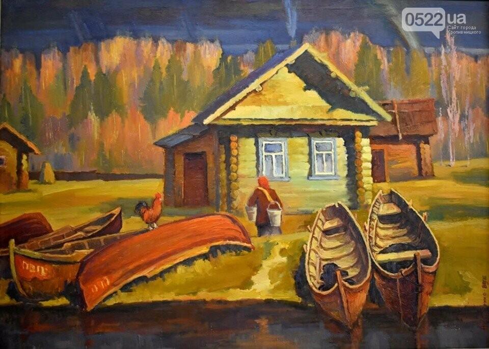 «Поклик рідного краю»: У Кропивницькому відкрили виставку народного художника України, фото-3