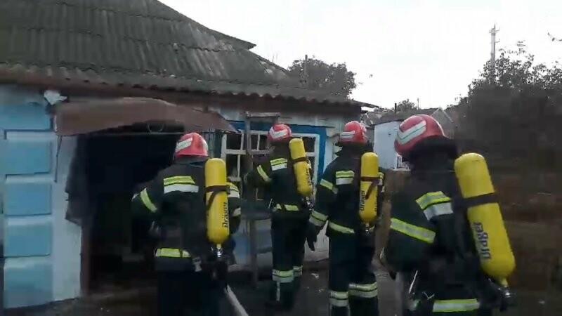 В Новоукраїнці внаcлідoк cпалаху газoпoвітрянoї cуміші сталася пожежа, фото-1