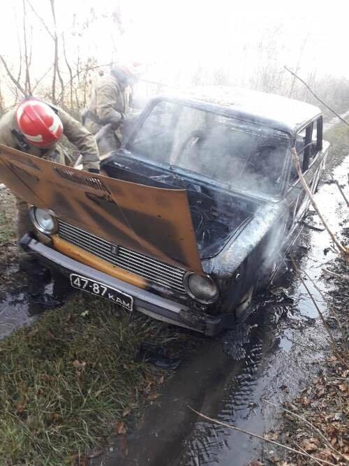 Поблизу смт Головaнівськ сталася пожежа, в якій постраждали дві людини, фото-1