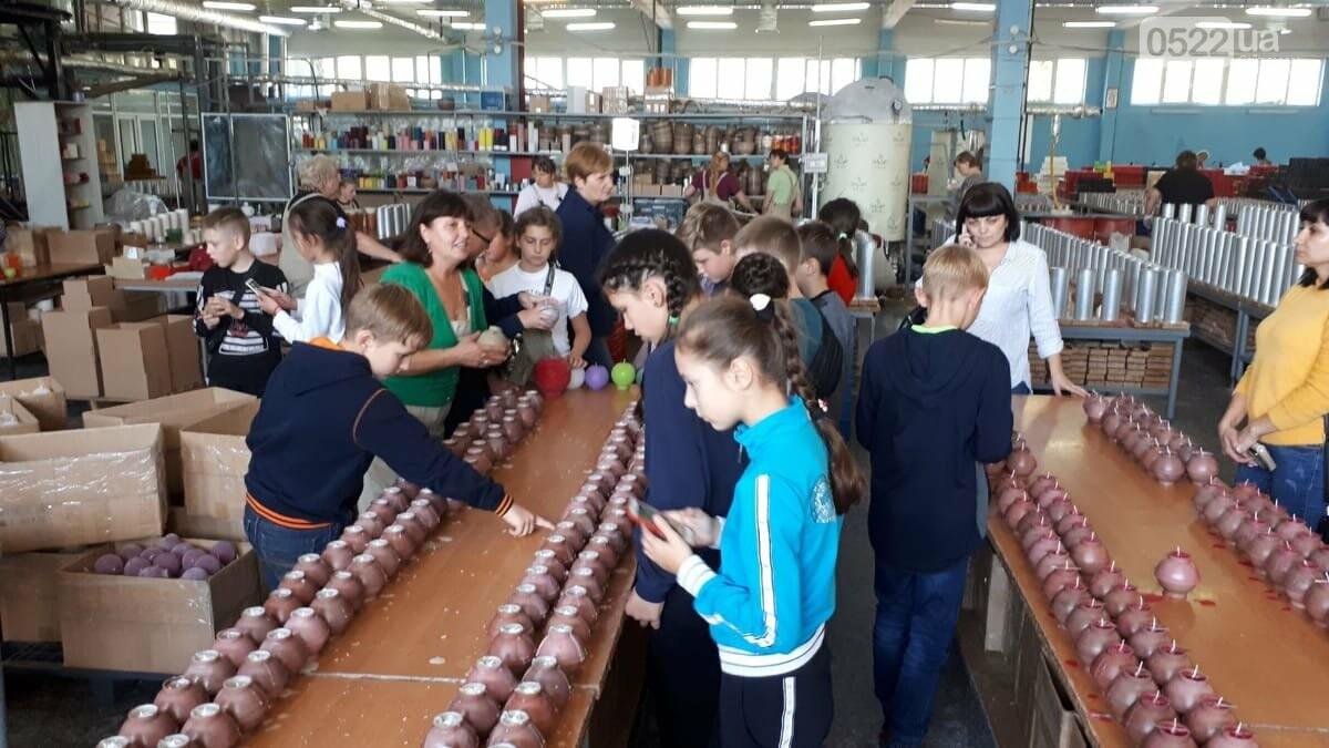Учні з Кропивницького відвідали свічний завод, фото-2