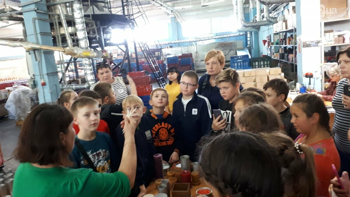 Учні з Кропивницького відвідали свічний завод, фото-1