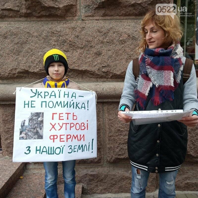 У Кропивницькому активісти закликали людей відмовитися від хутра (ФОТОРЕПОРТАЖ), фото-1