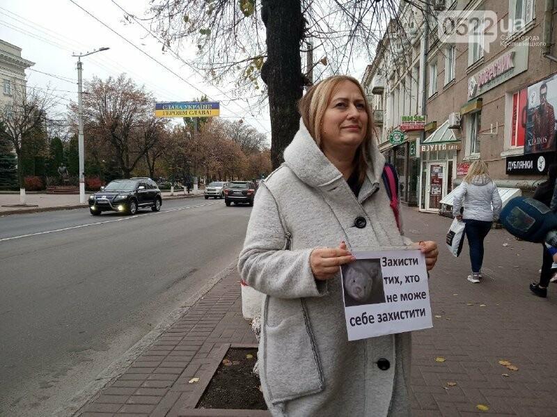 У Кропивницькому активісти закликали людей відмовитися від хутра (ФОТОРЕПОРТАЖ), фото-8