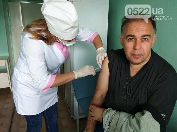 Кропивницькі журналісти вакцинувалися проти дифтерії. (ВІДЕО. ФОТО), фото-1