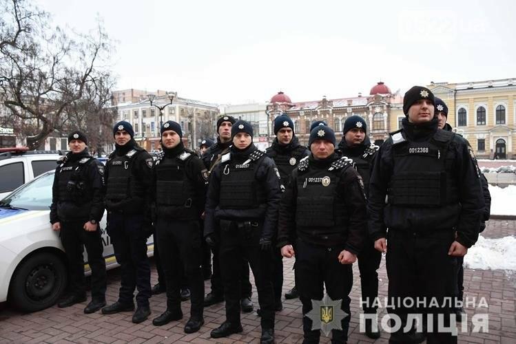 У Кропивницькому на патрулювання міста вийшли додатково 60 правоохоронців, фото-2
