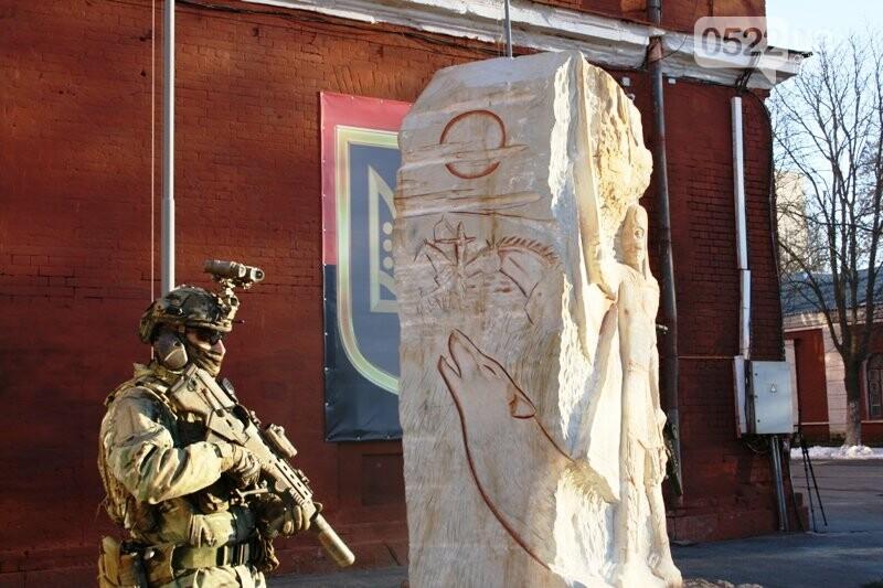 Кропивницький: На території військової частини відкрили пам'ятник князю Святославу Хороброму, фото-12