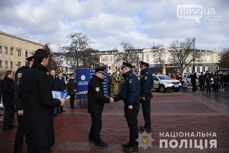 На Кіровоградщині поліцейські офіцери громади отримали новенькі автомобілі (ФОТО ВІДЕО), фото-4