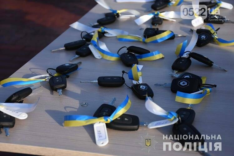На Кіровоградщині поліцейські офіцери громади отримали новенькі автомобілі (ФОТО ВІДЕО), фото-8