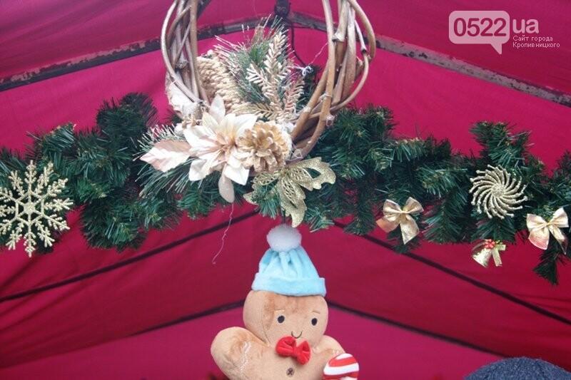 До дня Святого Миколая у Кропивницькому розгорнувся святковий ярмарок, фото-3