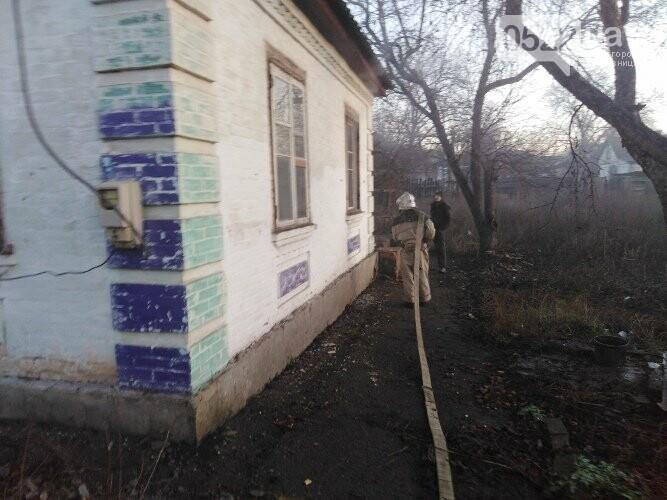 На Кіровоградщині рятувальники витягнули з пожежі господаря будинку, фото-1
