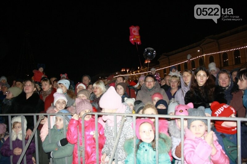 У Кропивницькому офіційно відкрили новорічну ялинку. (ВІДЕО, ФОТО), фото-12