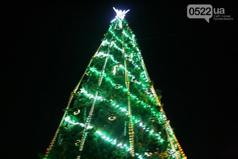 У Кропивницькому офіційно відкрили новорічну ялинку. (ВІДЕО, ФОТО), фото-16