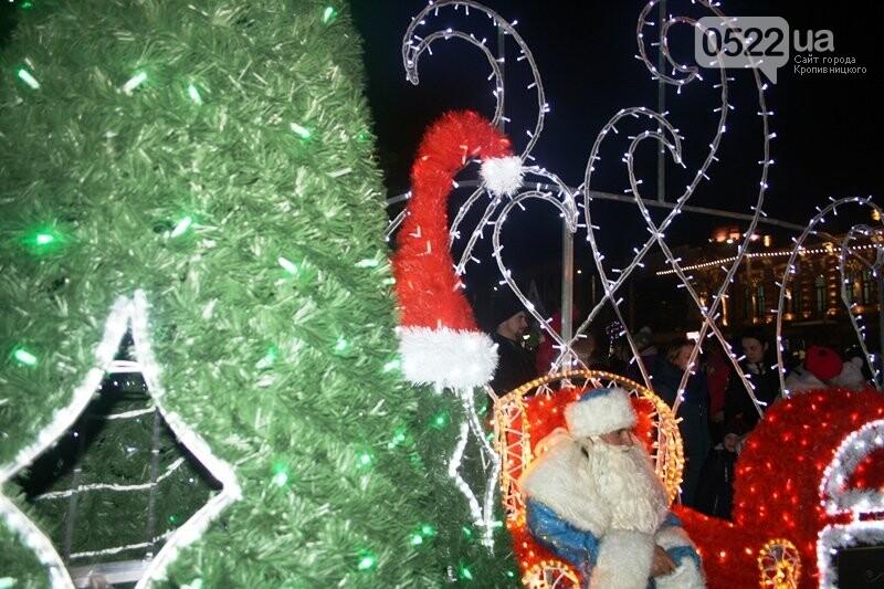 У Кропивницькому офіційно відкрили новорічну ялинку. (ВІДЕО, ФОТО), фото-17