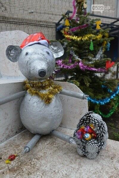Лісівники Компаніївщини привітали жителів області з новорічними святами, фото-1