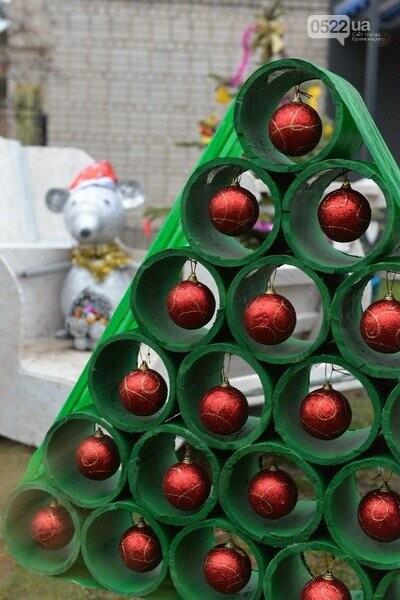 Лісівники Компаніївщини привітали жителів області з новорічними святами, фото-2