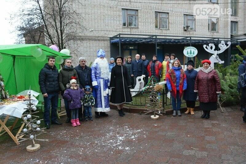 Лісівники Компаніївщини привітали жителів області з новорічними святами, фото-9